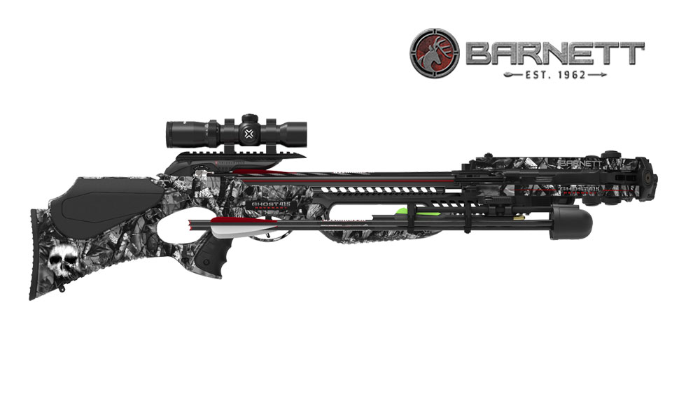 Barnett Ghost 415 Revenant Crossbow, Black, Side