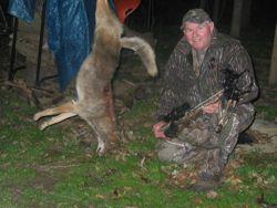 Coyote Crossbow Hunter