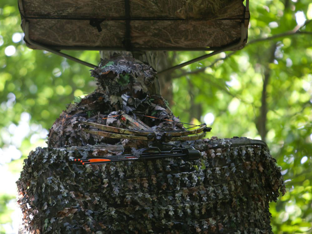 Crossbow Treestand Blind