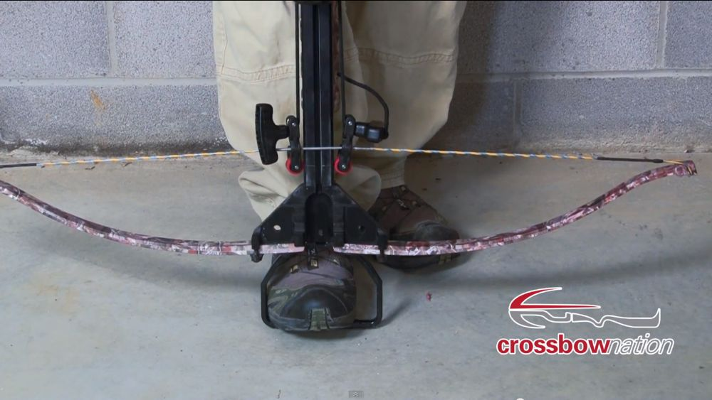 Crossbow Rope Cocking Aid