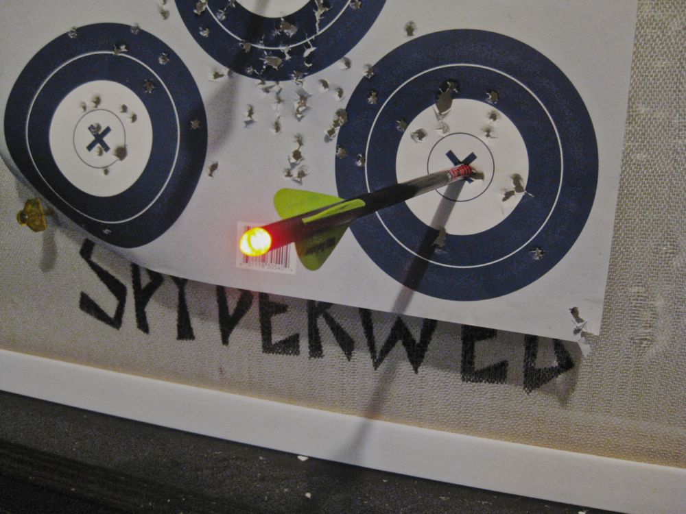 Lighted Crossbow Nock