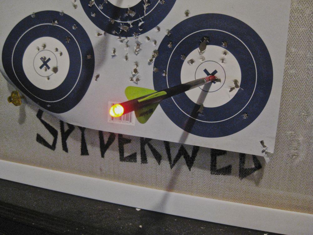 Lighted Crossbow Nock