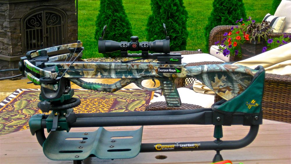 practice with your crossbow away from the bench