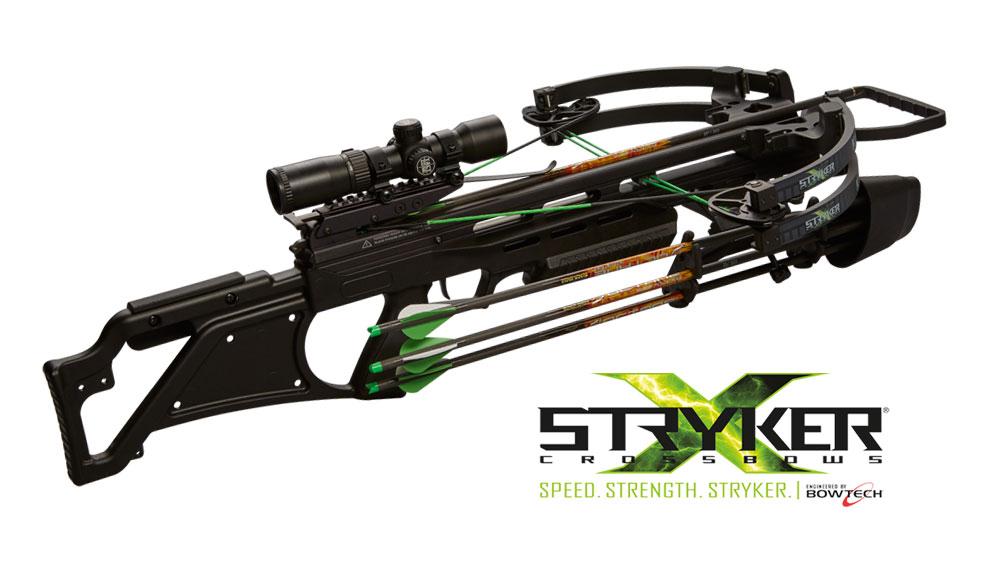 Stryker Kantana 385 Crossbow, Black Ops