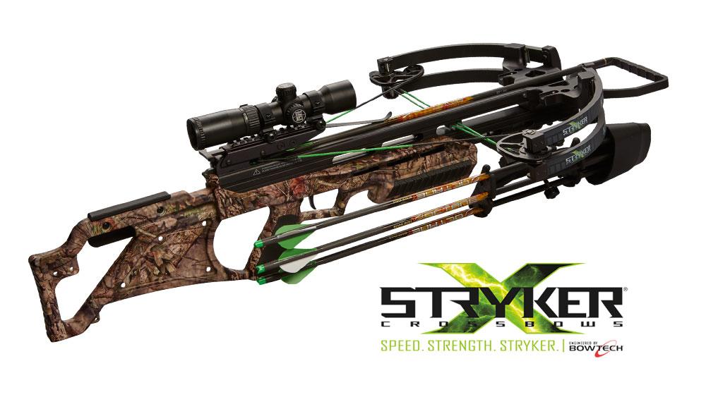 Stryker Katana 385 Crossbow, Mossy Oak
