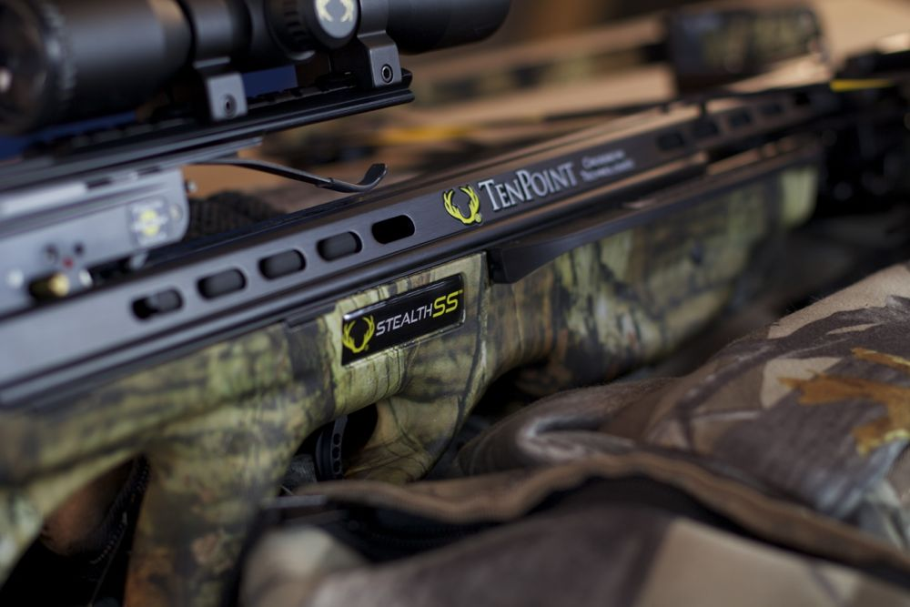 TenPoint Crossbow Close Up